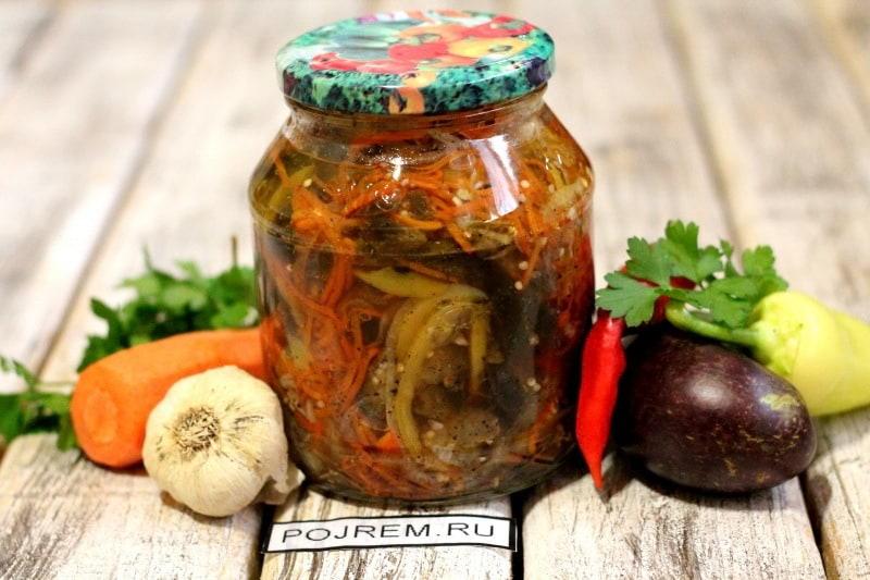 баклажаны кабачки рецепты приготовления