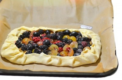 ягодный пирог рецепты с фото в духовке с