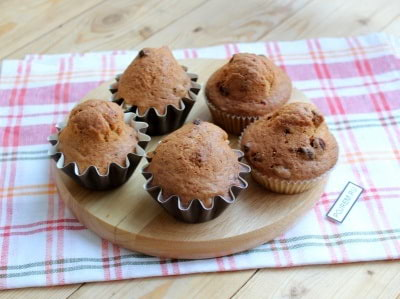 пошаговый рецепт приготовления кексов в формочках