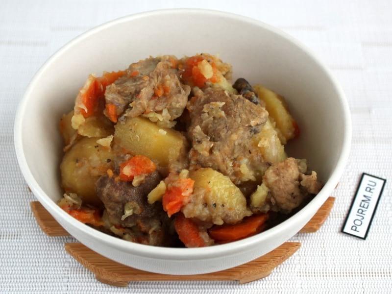 блюда из картофеля и мяса в мультиварке рецепты с фото