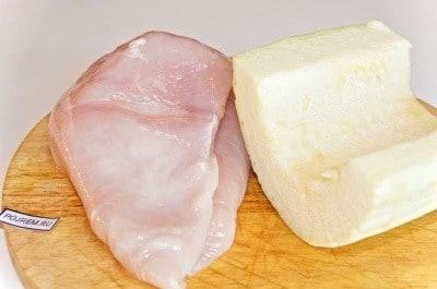 кабачки и куриная грудка в духовке рецепт с фото