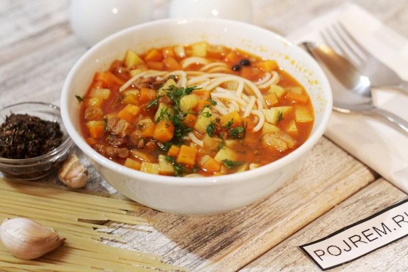 лагман рецепт приготовления в домашних условиях узбекский