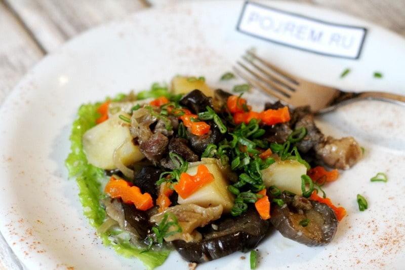 Говядина с баклажанами: рецепт с фото