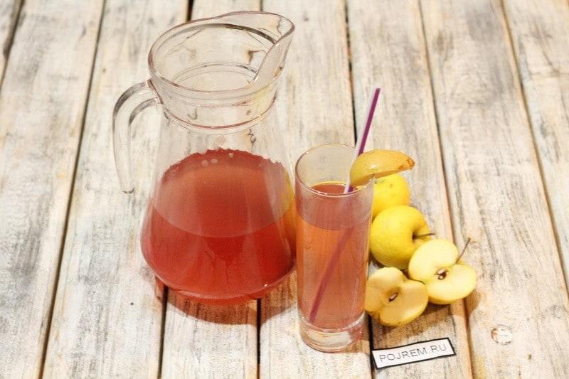 /как приготовить компот из яблок прочитать рецепты