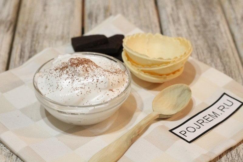 Крем из белков и сахара