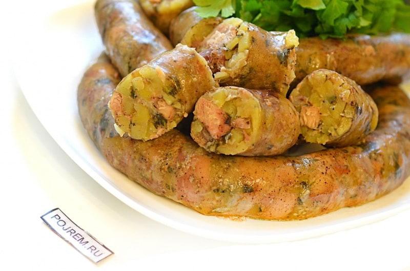 картофельная колбаса рецепт