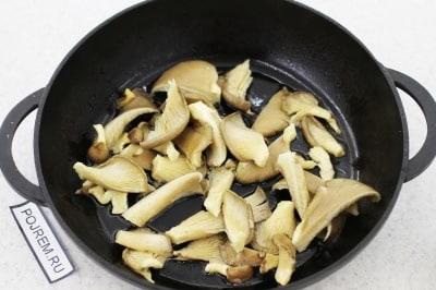 грибы вешенки жареные рецепты с фото пошагово