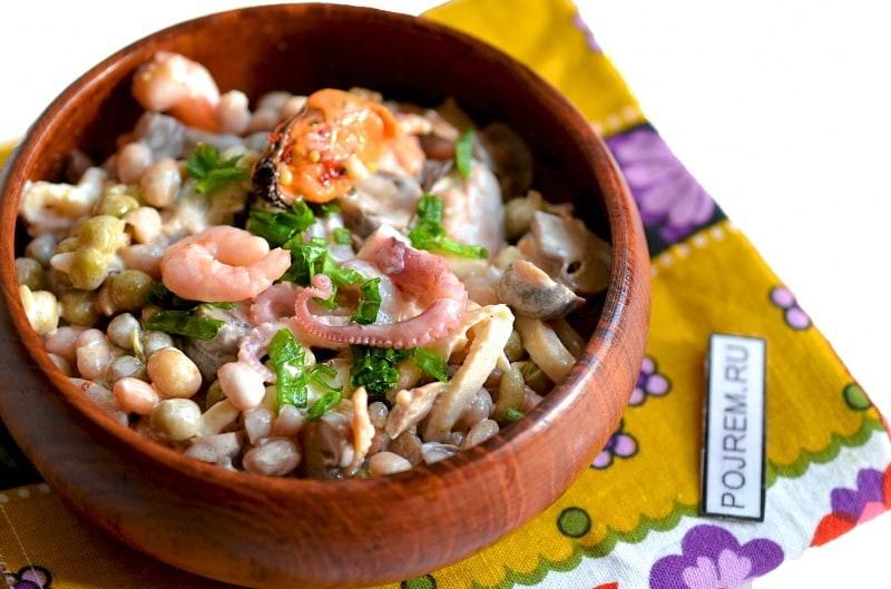 Диетические блюда с фасолью рецепты с фото