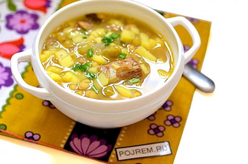суп с макаронами и тушенкой рецепт с фото