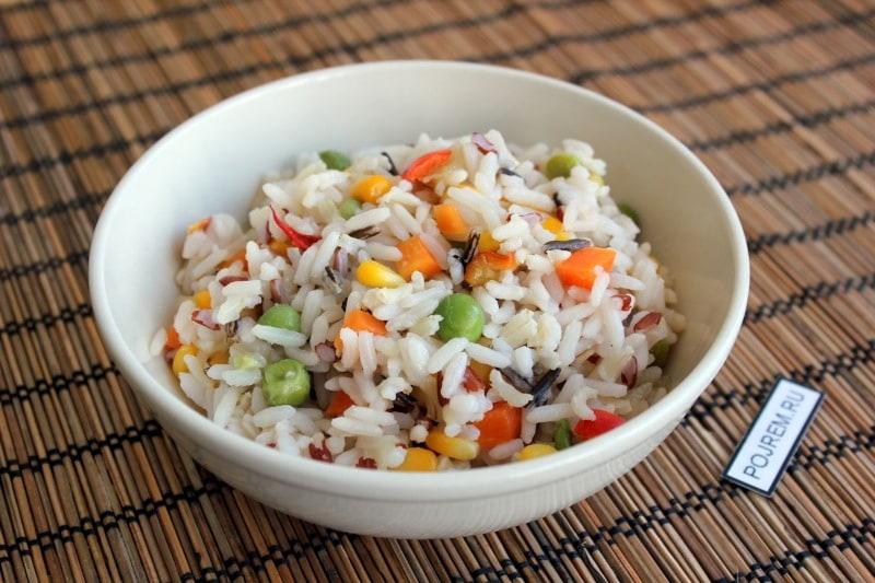 рис с овощами на сковороде рецепт с фото пошагово в домашних условиях