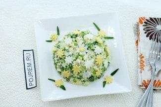Салат с зелёным луком