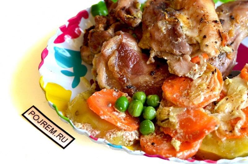 Кролик рецепты приготовления пошаговые 80