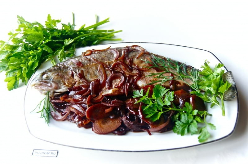 рыба в вине