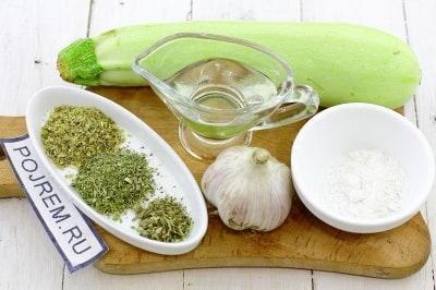 Кабачок жареный  калорийность полезные свойства польза