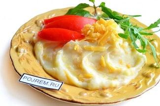 Пюре с сыром