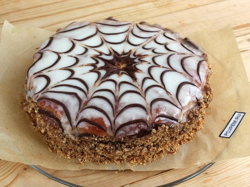 фото готового торта эстерхази