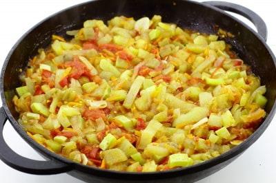 пошаговый рецепт приготовления икра овощная