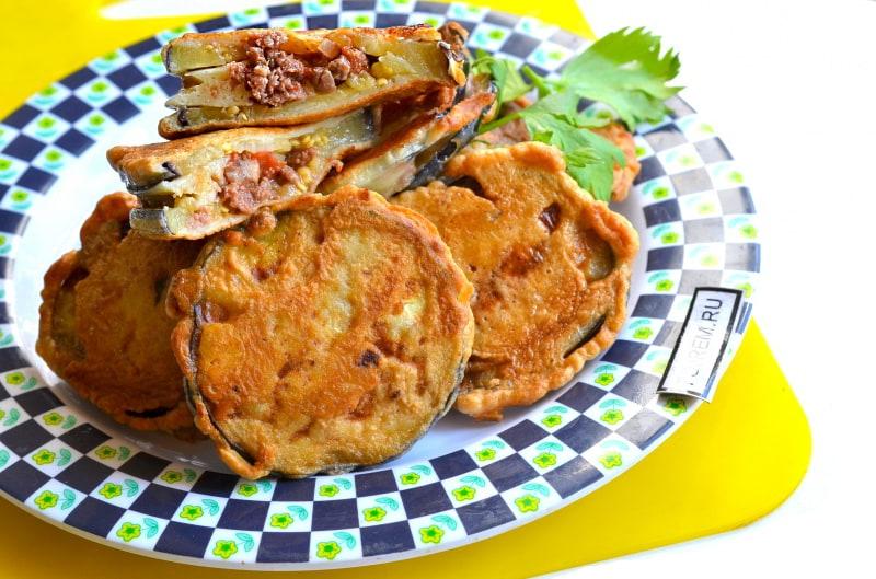 Кабачки и баклажаны в кляре рецепт пошагово