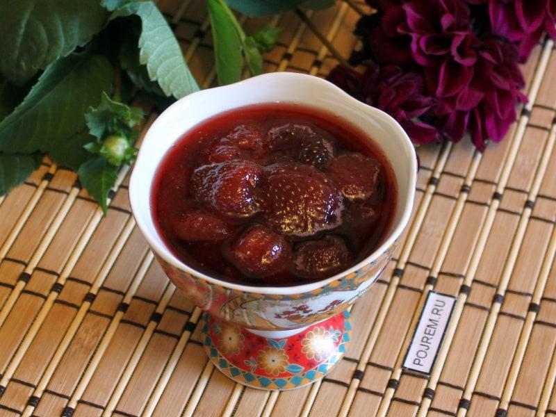 варенье из замороженных ягод