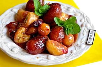Жареные фрукты