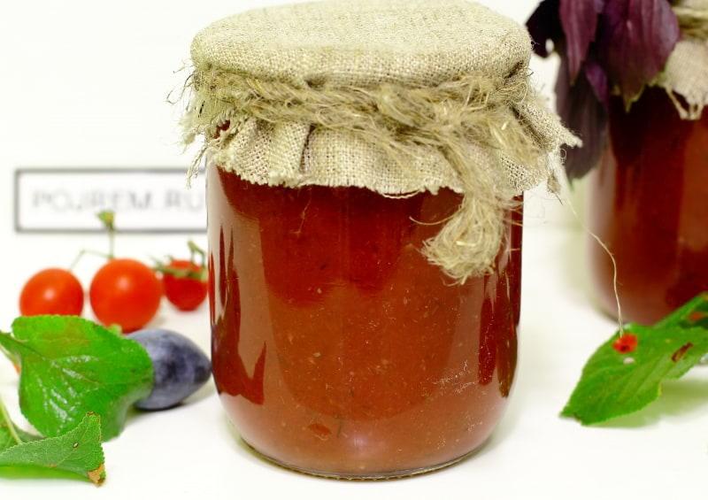 кетчуп со сливой