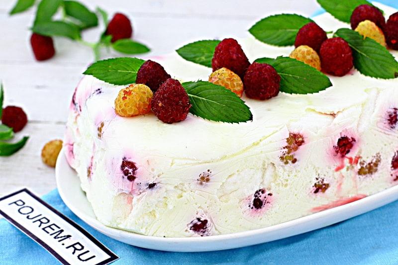 десерт из зефира