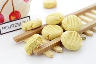 Домашнее кукурузное печенье