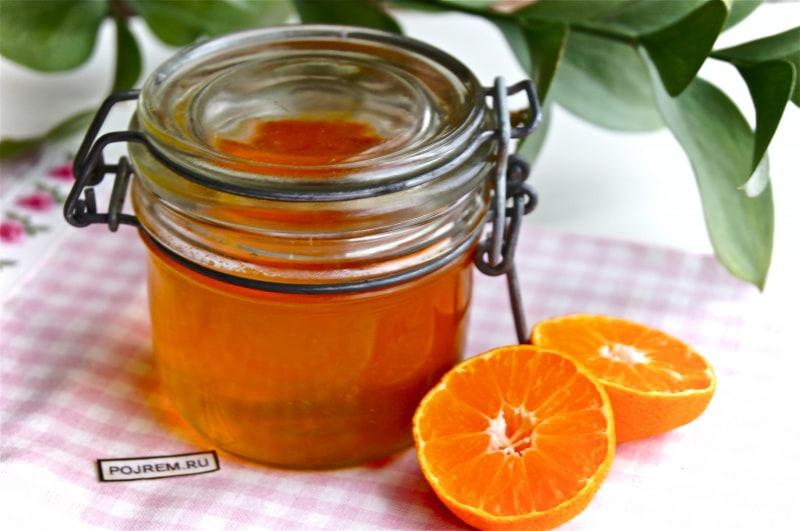 мандариновый сироп