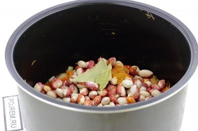Квасоля в мультиварке рецепты пошагово