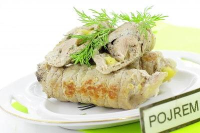 Мясные рулетики с грибами пошаговый рецепт
