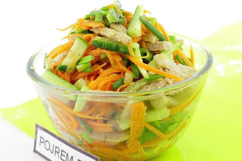 салат мушкетерский рецепт с фото с корейской