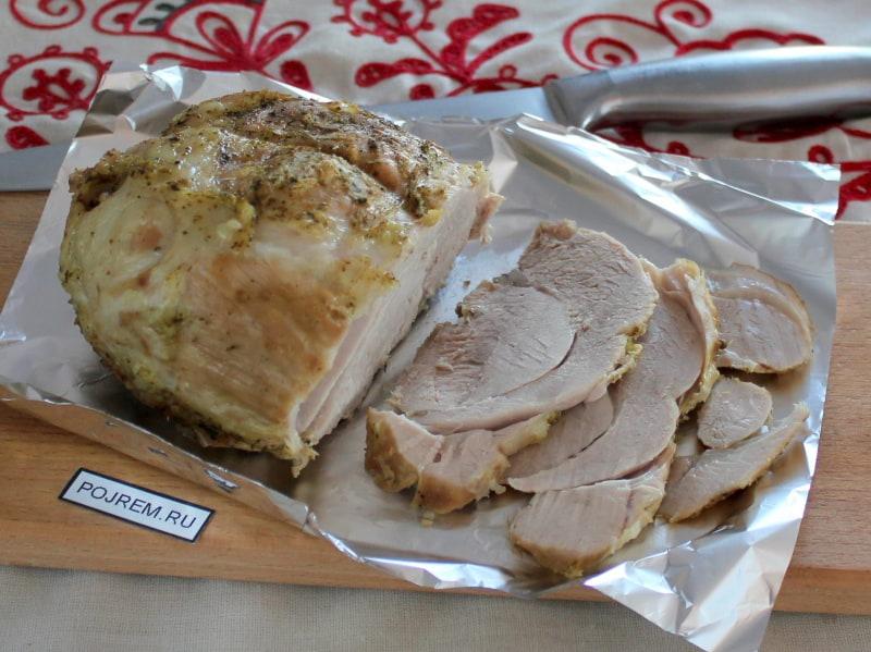 рецепт мяса в духовке пошаговый рецепт