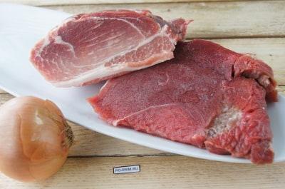 котлеты из фарша свиного и говяжьего рецепт с фото