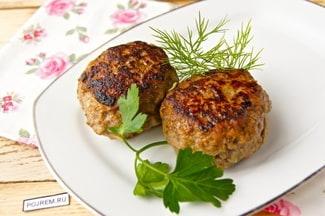 Котлеты из фарша свинины и говядины