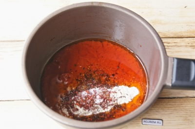 подлива из томатной пасты с мукой рецепт с фото