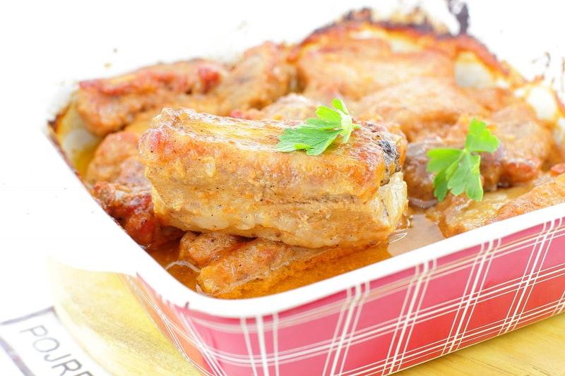 ребрышки в духовке пошаговый рецепт с фото