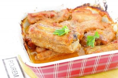 рецепт запекания свиных ребрышек в духовке с фото