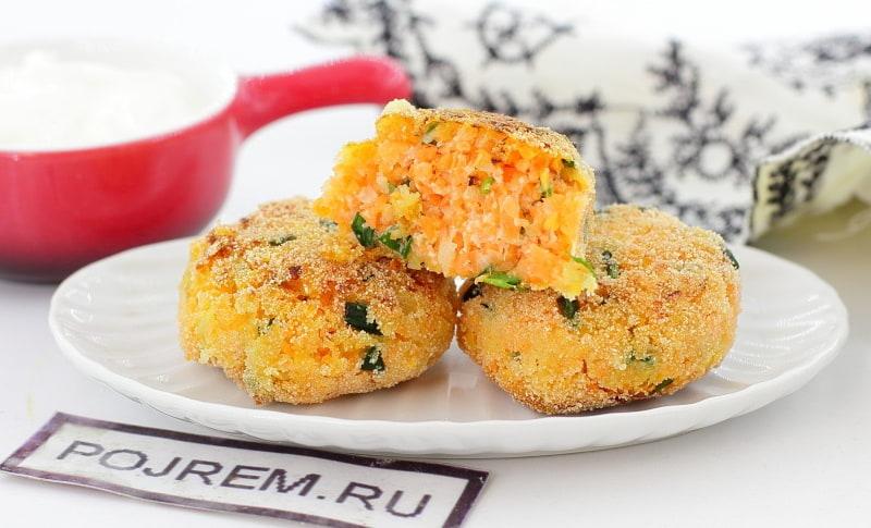 Морковные вкусные котлеты рецепт пошагово