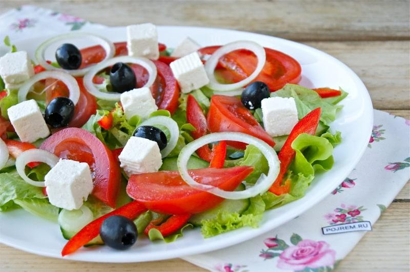 салат из сыра рецепты