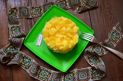 салат ананас с курицей в домашних условиях рецепт с фото