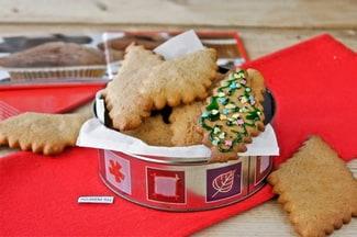 Имбирное печенье с глазурью