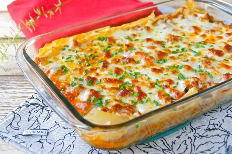 Как делать лазанью в домашних условиях рецепт пошагово с сыром
