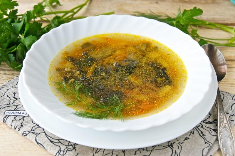 Правильно варить грибной суп