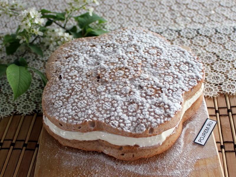 полезный торт