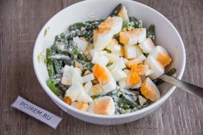 рецепты салатов из стручковой фасоли с курицей