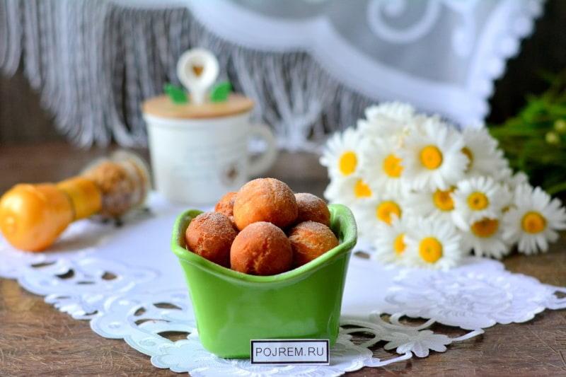 Пошаговый рецепт вкусных пончиков 43