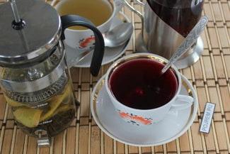 Имбирный чай с лимоном и мёдом для похудения