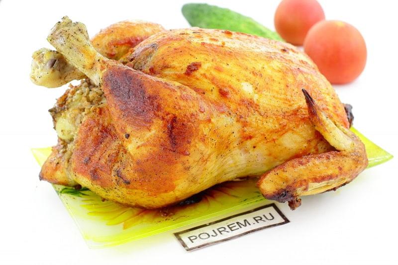 вкусный рецепт курицы с гречкой в духовке