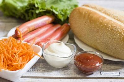 фото рецепт настоящей булочки хот дога