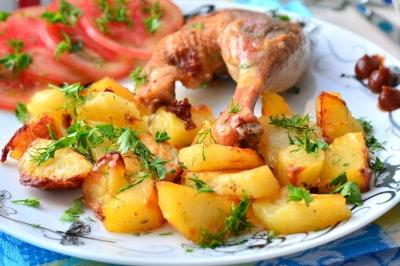 утка в духовке пошаговый рецепт в рукаве с картошкой
